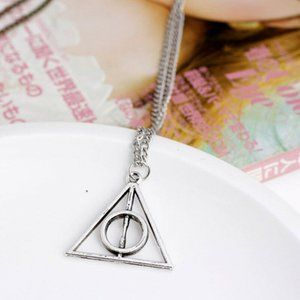 Jewelry - NWOT Silver Harry Potter Deathly Hallows Necklace